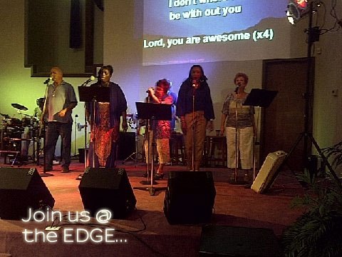 Join us @ the EDGE...